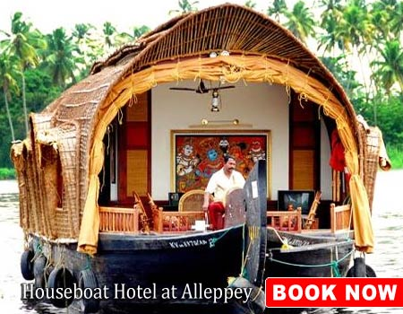 Houseboat Hotel at Alleppey